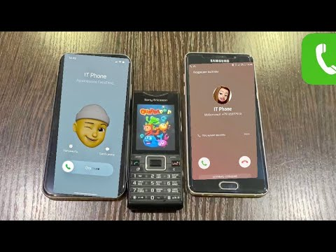 Incoming & Outgoing Call Sony Ericsson Samsung A5 iPhone 10
