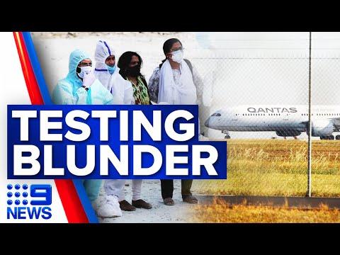 Qantas investigating accuracy of COVID-19 tests in India   Coronavirus   9 News Australia