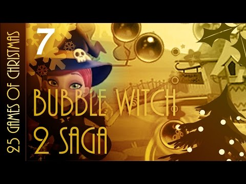 25 Games Of Christmas - 7 - Bubble Witch 2 Saga