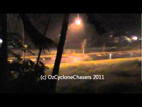 Severe Tropical Cyclone Yasi Chase Part 2