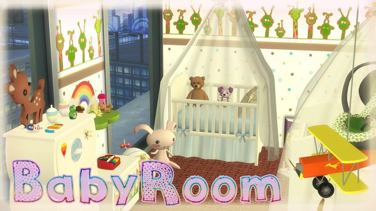 Speedbuild babyroom los sims 4 habitaci n para bebes for Cuartos para ninos sims 4