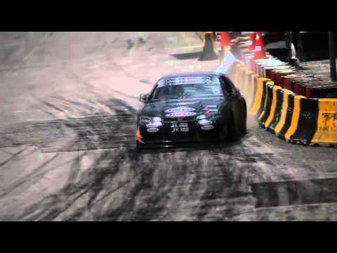 FXOpen Drift Final- Tony Angelo terrible crash