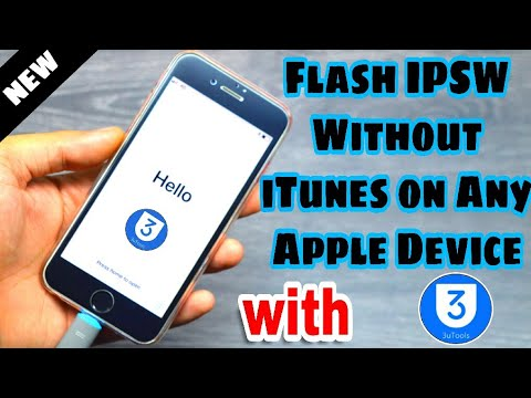 Flash Apple IOS Firmware Without ITunes On IPhone, IPad And IPod Touch (3uTools)