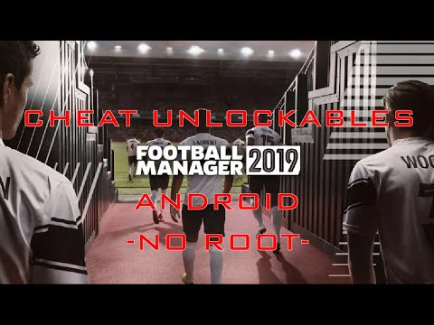 Football Manager 2019 Mobile Unlocked Sugar Daddy, In Game Editor, Etc (NoRoot Needed) Tut 100% Work