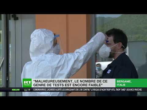 Italie: la Lombardie lance une campagne de tests sérologiques