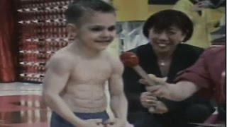 Giuliano was invited in Japan for tv show at 7 years old...