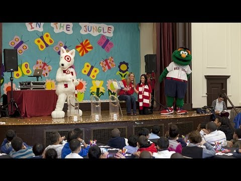Edward Everett School receives a Holiday Surprise
