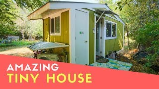 Amazing 70 Year Old Builds Innovative Off-grid Tiny House For Debt Free Retirement
