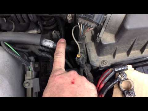 How To Clean The Battery Ground Connection On A Car - Ford Focus
