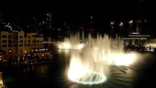 Dubai Fountain - 'Shik Shak Shok' HD