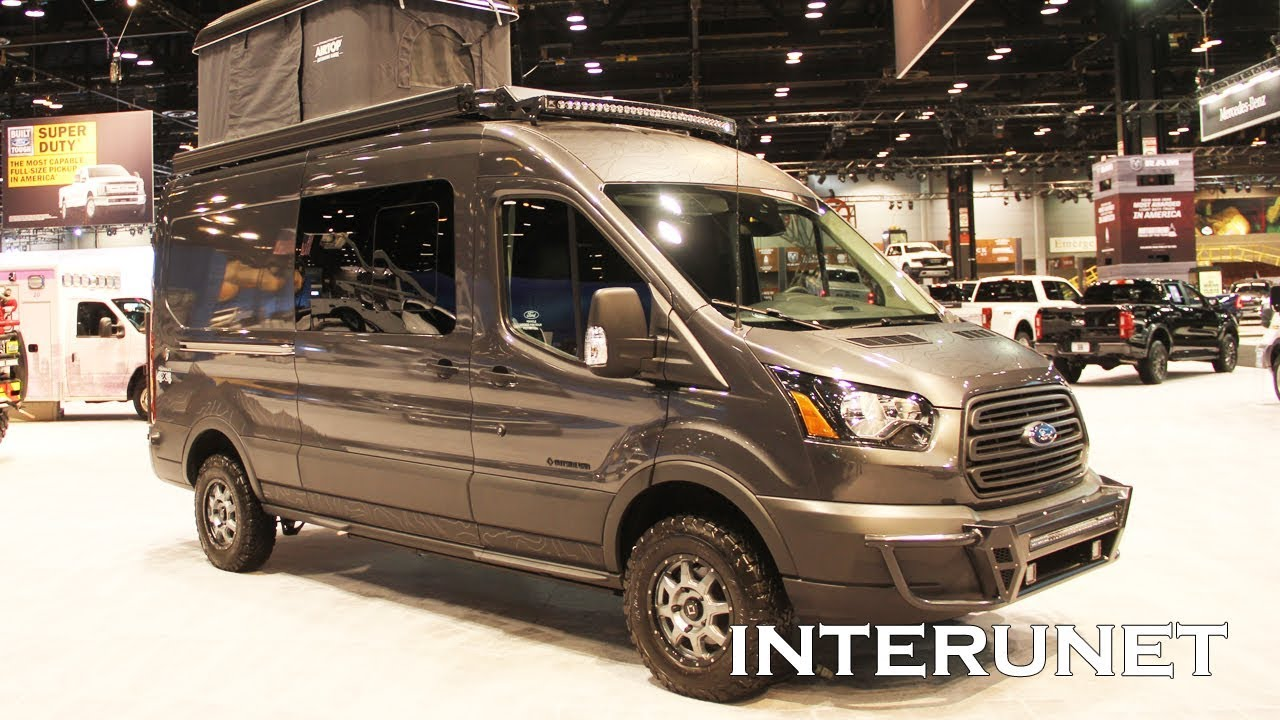 2019 Ford Transit 250 Quigley 4x4 with Camper Conversion
