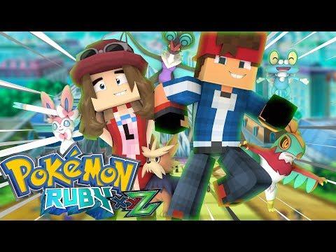 Minecraft: BEM VINDOS A KALOS !?! - Pokemon Ruby (Pokémon XYZ) #186 ‹ Goten ›