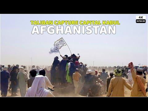 TALIBAN Capture Afghanistan's Capital Kabul City | 15 august 2021 | 4K