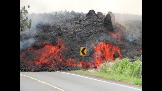Hawaii Volcano Live Stream - Kilauea Fissures