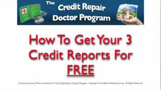 Free Annual Credit Report With AnnualCreditReport.com