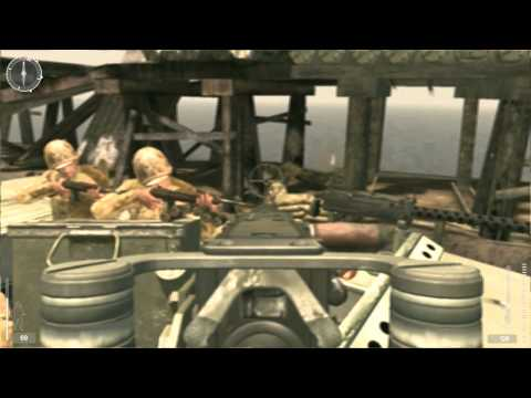 13. Medal of Honor: Pacific Assault - Realistic Difficulty Walkthrough - Tarawa: Red Beach