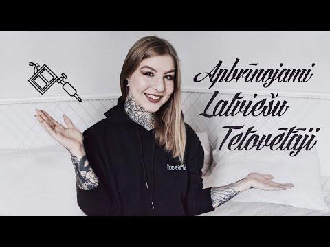 APBRĪNOJAMI LATVIEŠU TETOVĒTĀJI   AMAZING LATVIAN TATTOO ARTISTS