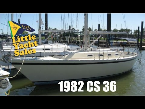 SOLD!!! 1982 CS Canadian Sailcraft 36 Sailboat for sale at Little Yacht Sales