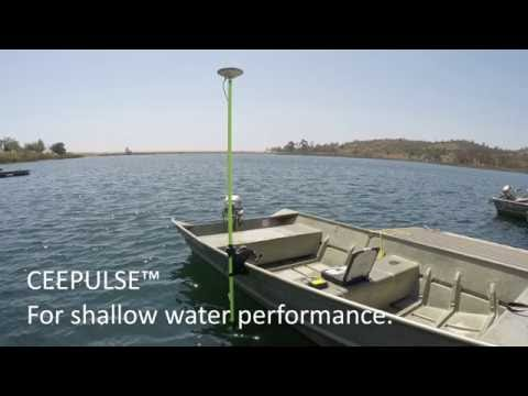 CEE HydroSystems Single Beam CEEPULSE Echo Sounder in Shallow Water Survey