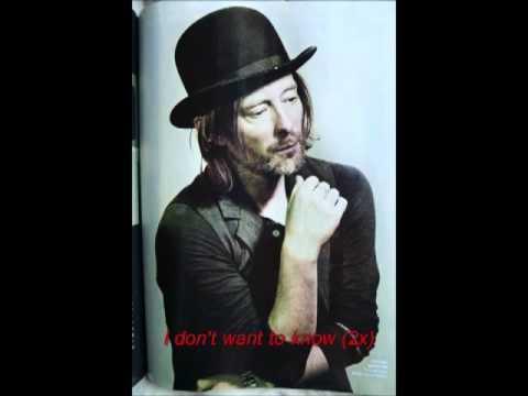 Radiohead - Identikit lyrics
