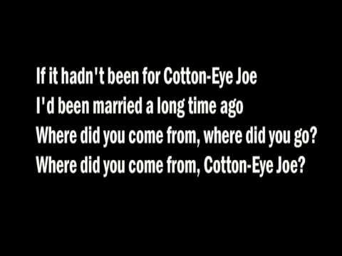 REDNEX- Cotton Eye Joe with lyrics (HQ)