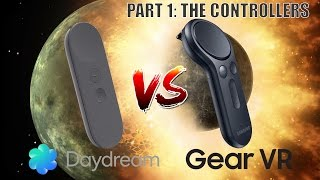 Daydream vs. Gear VR - The Big Comparison Part 1: The Controllers