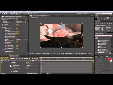 How to Create Slow Motion in Adobe After Effects   YouTube