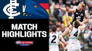 Battle of the key forwards   GWS v Fremantle Highlights