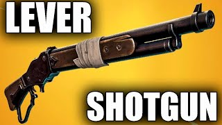 НОВА ПОМПА - LEVER SHOTGUN | Fortnite