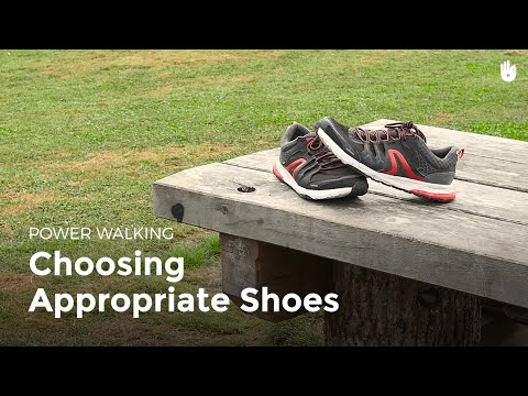Choosing Appropriate Shoes | Power Walking