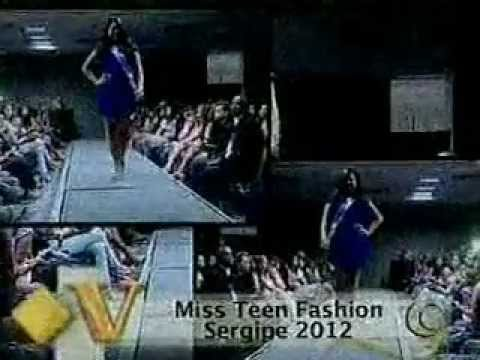 Miss Teen Fashion Sergipe 2012
