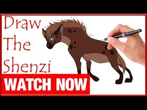 Shenzi, banzai and ed hyenas coloring pages - Hellokids.com | 360x480