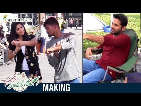 Chal Mohan Ranga Movie MAKING | Nithiin | Megha Akash | Thaman S | Pawan Kalyan | Trivikram