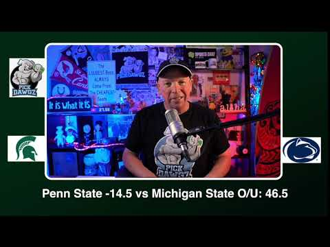 Penn State vs Michigan State 12/12/20 Free College Football Picks and Predictions CFB Tips