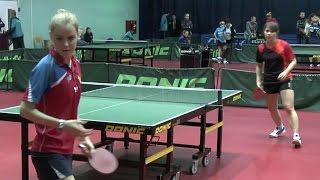 Ольга ГОРДЕЕВА - Мария ПАНАРИНА Настольный теннис, Table Tennis