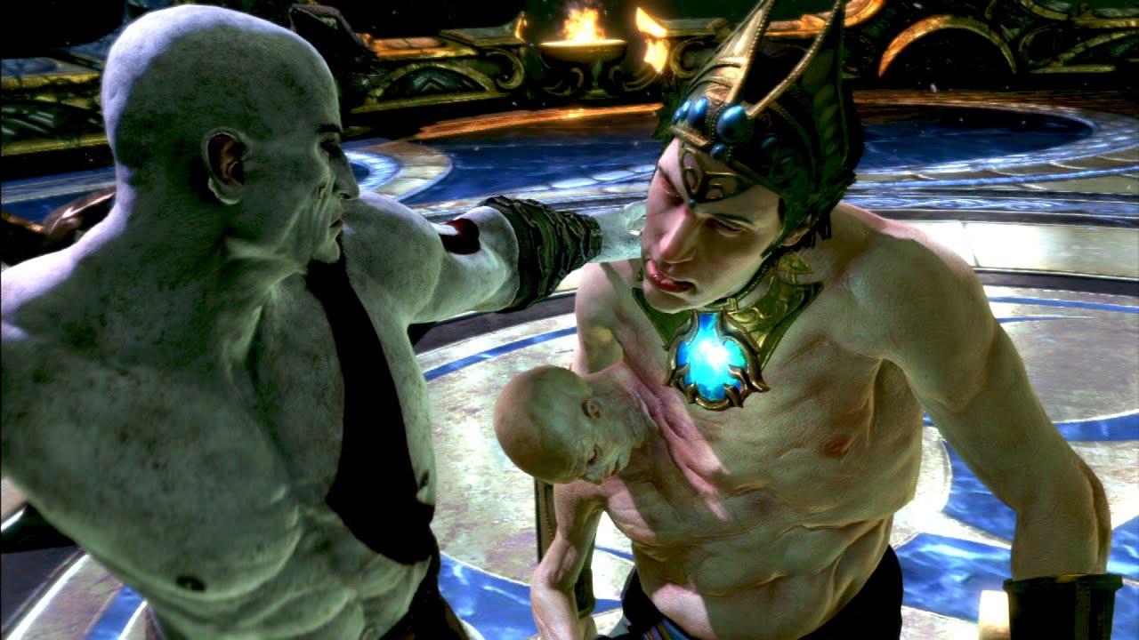 god of war ascension pollux and castor boss fight youtube. Black Bedroom Furniture Sets. Home Design Ideas