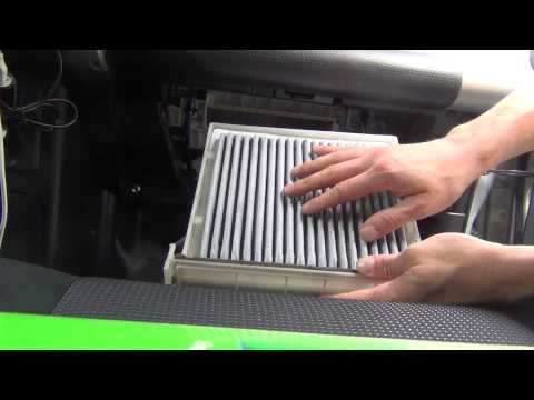 How To Replace Cabin Air Filter - FJ Cruiser - Same for most brands / models