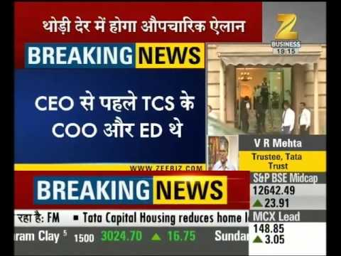 N. Chandrasekaran may become the new CEO of TCS