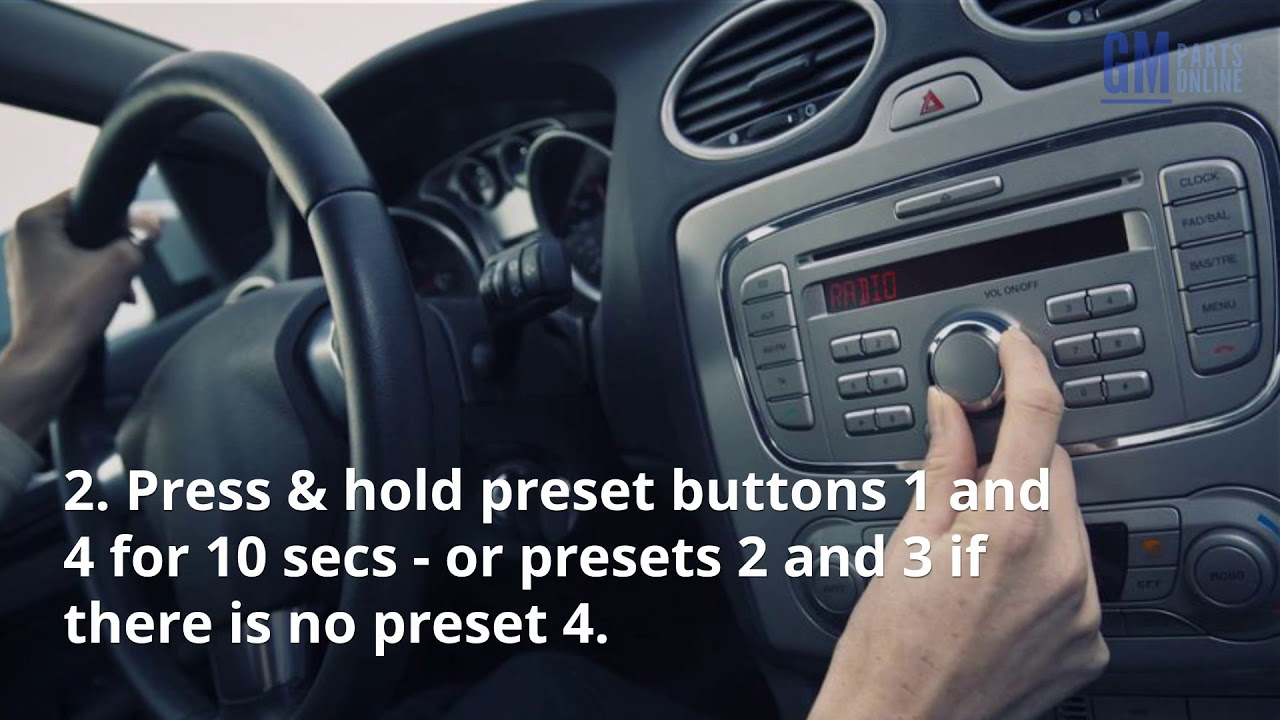 How to Unlock Your Chevy or GMC Radio Without Paying a Dime