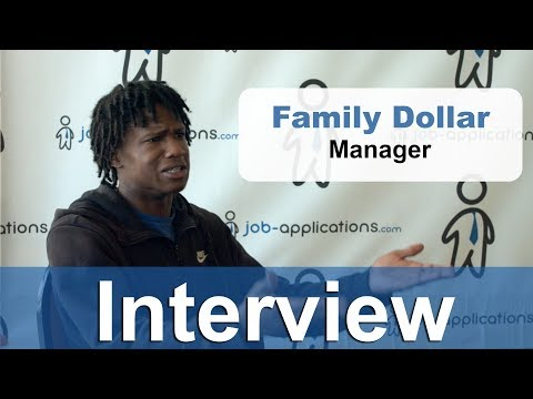 Family Dollar  Interview Manager