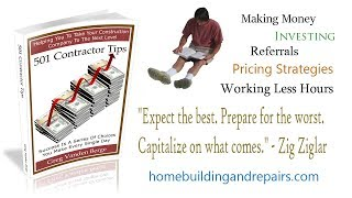Learning about Construction, Contracting and Home Repairs from Excellent Books