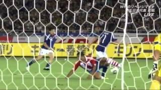 Japan 1-0 Paraguay 04.09.2010 Shinji Kagawa's best scenes and goal