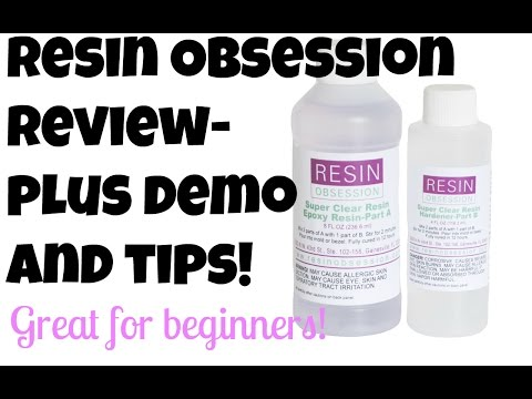 Resin Obsession Demo, Review & TIPS!
