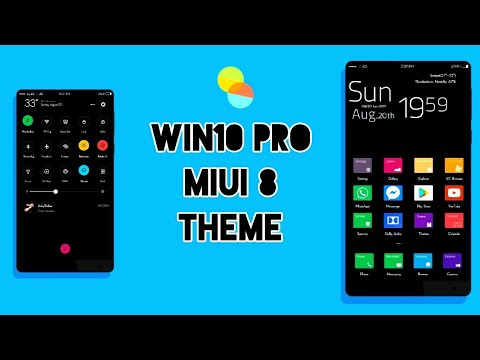 MIUI 8 Third Party Theme - Win10 Pro | Not in Theme Store