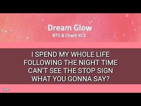 BTS CHARLI XCX - DREAM GLOW LETRA FÁCIL  EASY LYRIC