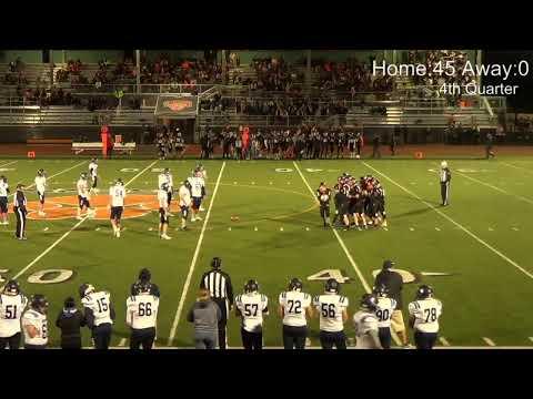 Black and Blue Bowl - Granite Falls High School Football 10-18-2019