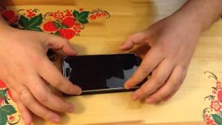 Как наклеить пленку на телефон. Без пузырей. Samsung Galaxy S5.(Покупал тут ..., 2015-03-31T22:30:05.000Z)