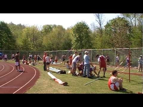 Shikellamy Pole Vaulting at Breslin Relays