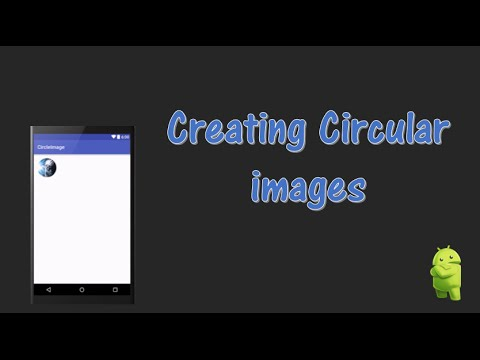 Creating Circular Images in Android Studio