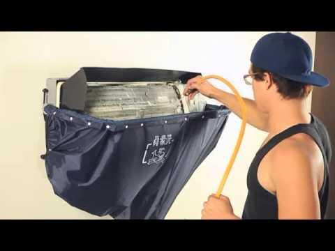 安裝冷氣工地現場-安裝分離式冷氣的室內機   Doovi